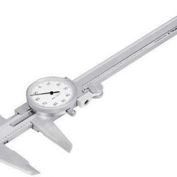 """Calibre reloj ac.Inox.pulgadas 6″    """"TRUPER""""       CALCA-6"""