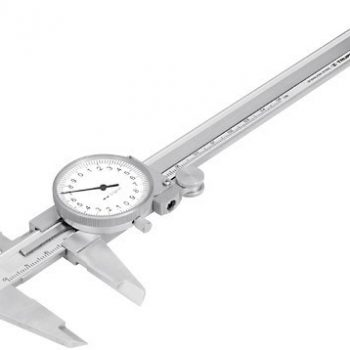 "Calibre reloj ac.Inox.milimétrico 6″ ""TRUPER""      CALCA-150"