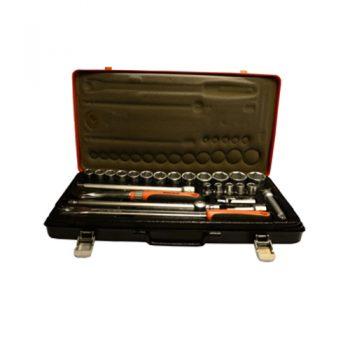 Caja 18 Dados 10/32mm Y 7 Accs.Art.Sx250