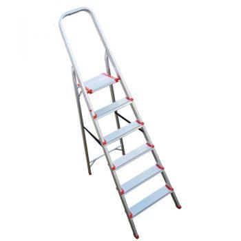 Escalera Aluminio 6 escalones