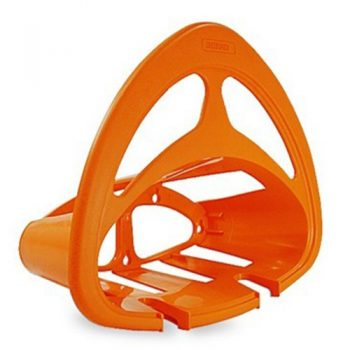 Base de plástico p/colgar mangueras,naranja  GAN-MA