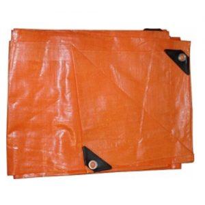 Lona Impermeable Naranja  6 X 4mts. Goldex