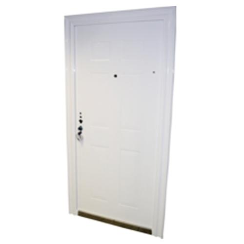 Puerta blindada blanca derecha apertura int cifer - Puerta blindada blanca ...