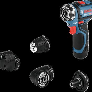 Atornillador a batería Bosch GSR 12V-15 FC Professional