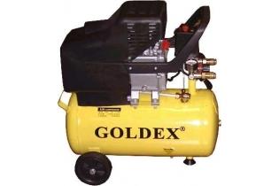 COMPRESOR DE AIRE 2HP 24Lt. GOLDEX